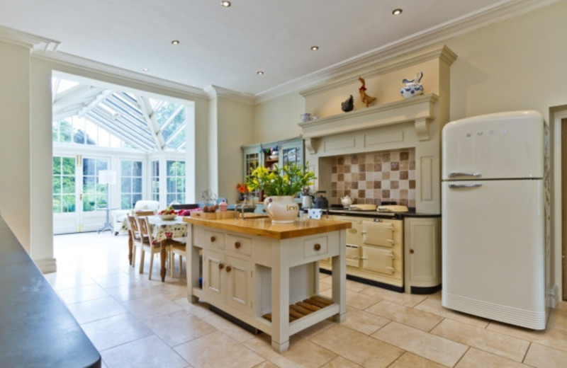 Kitchen at Old Vicarage Country House Hotel