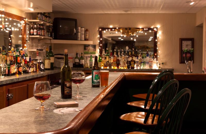Bar at Eagles Mere Inn.