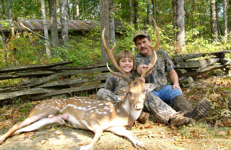 Axis Deer hunting at Caryonah Hunting Lodge.