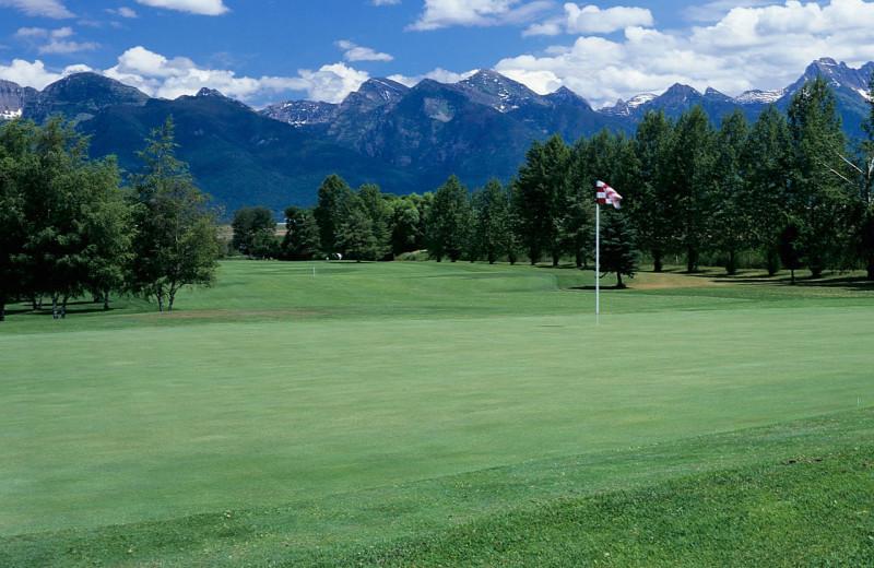 Golf course near Many Springs Flathead Lake Resort.