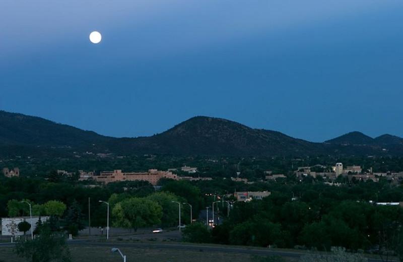 Beautiful Santa Fe evening at The Lodge at Santa Fe.