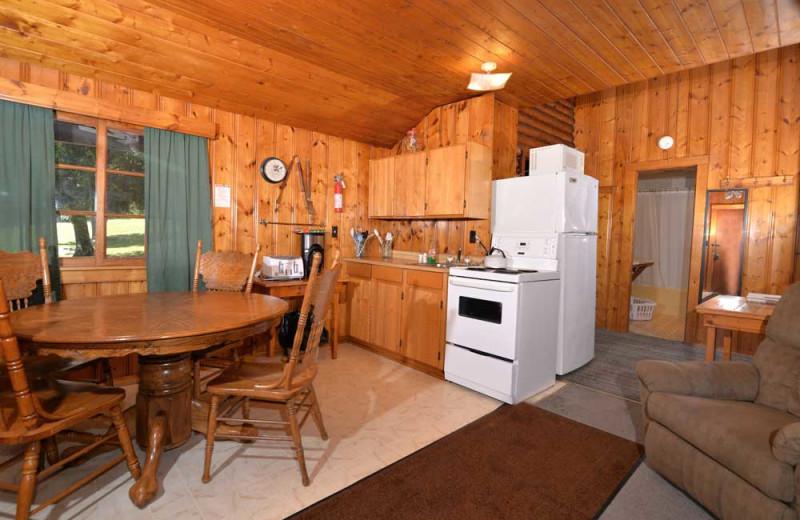 Guest kitchen at Manotak Lodge.