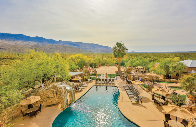 Pool at Tanque Verde Ranch.