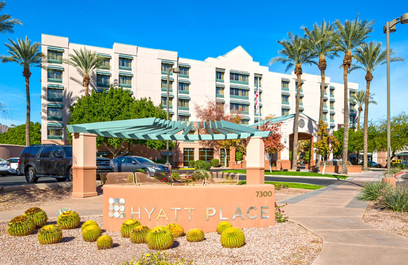 Exterior view of Hyatt Place Scottsdale/Old Town.