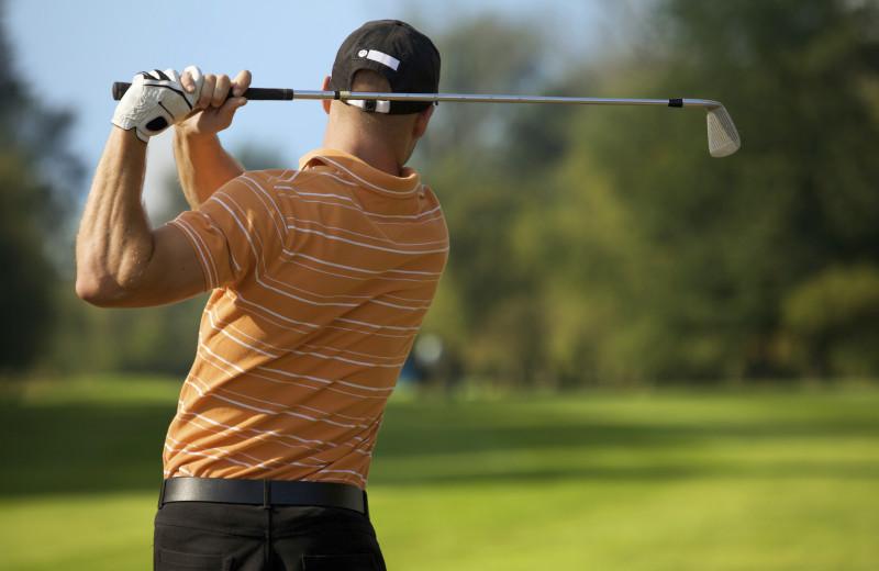 Golf course at Adair Country Inn.