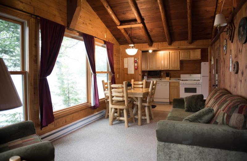 Breakers Livingroom and Kitchen