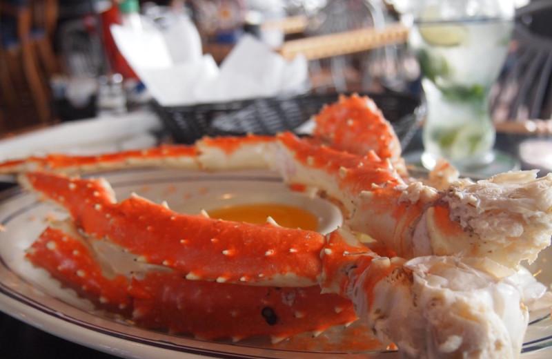 King crab at The Geneva Inn.