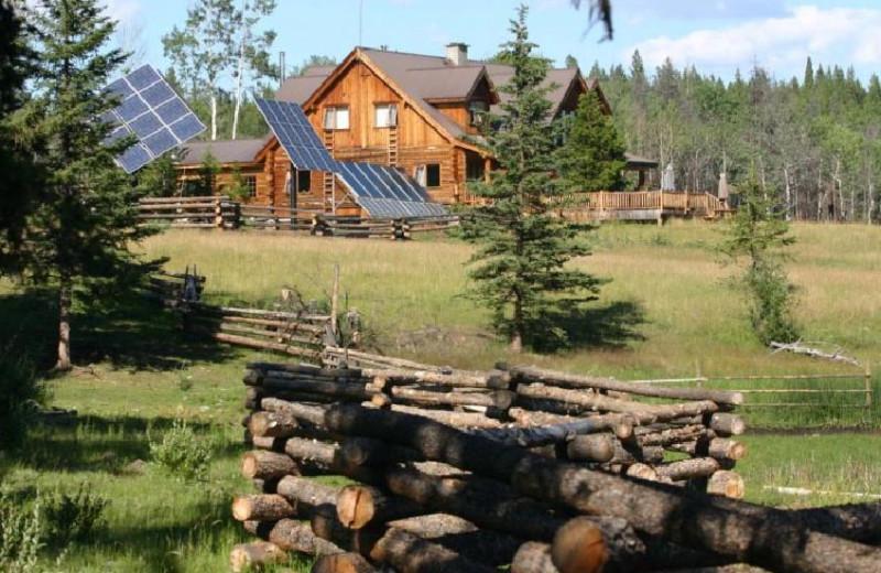 Ranch House Exterior at Siwash Lake Ranch