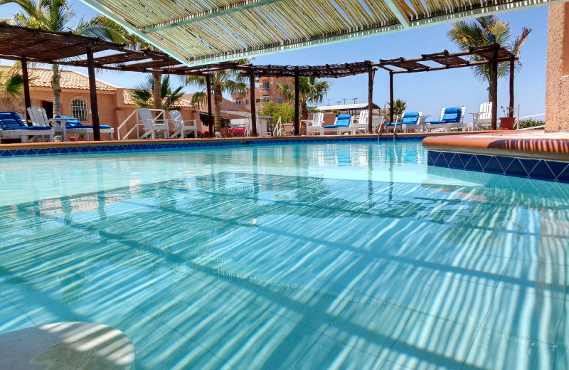 Outdoor pool at Club Hotel Cantamar.