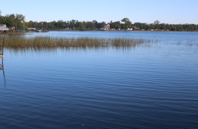 Lake at Four Seasons Resort.
