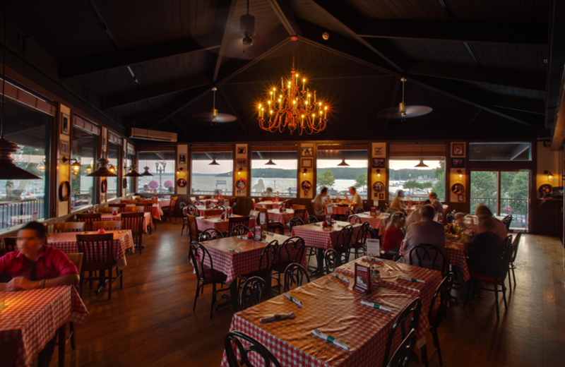 Gino's East restaurant at Harbor Shores.