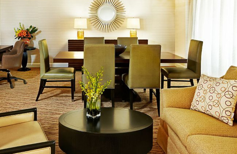 Living Room at Marriott Desert Springs Resort