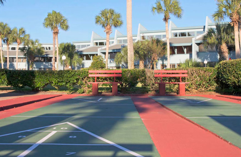 Shuffleboard at Sunnyside Beach & Tennis Resort.