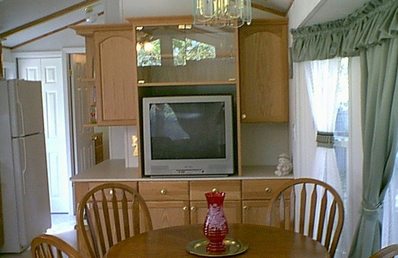 Cottage kitchen at A Long Stay.