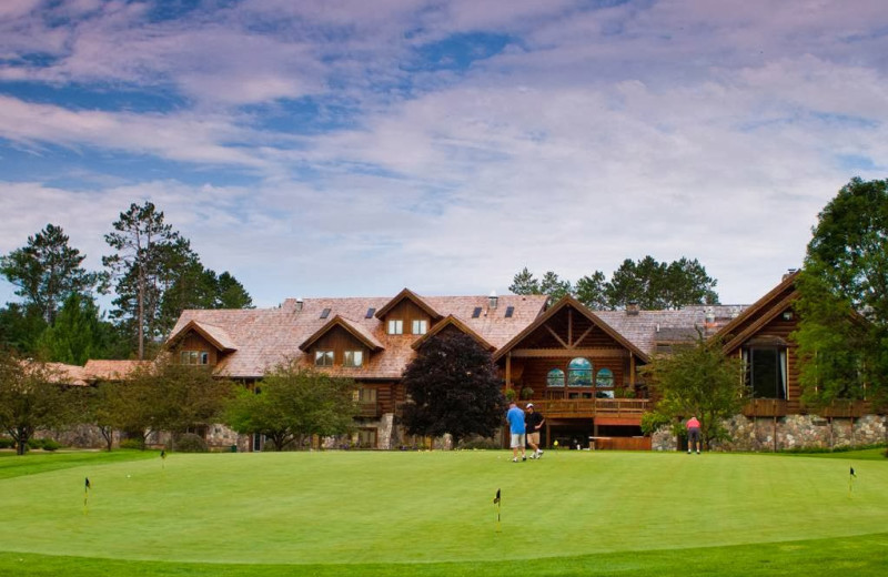 Exterior view of Garland Lodge & Resort.