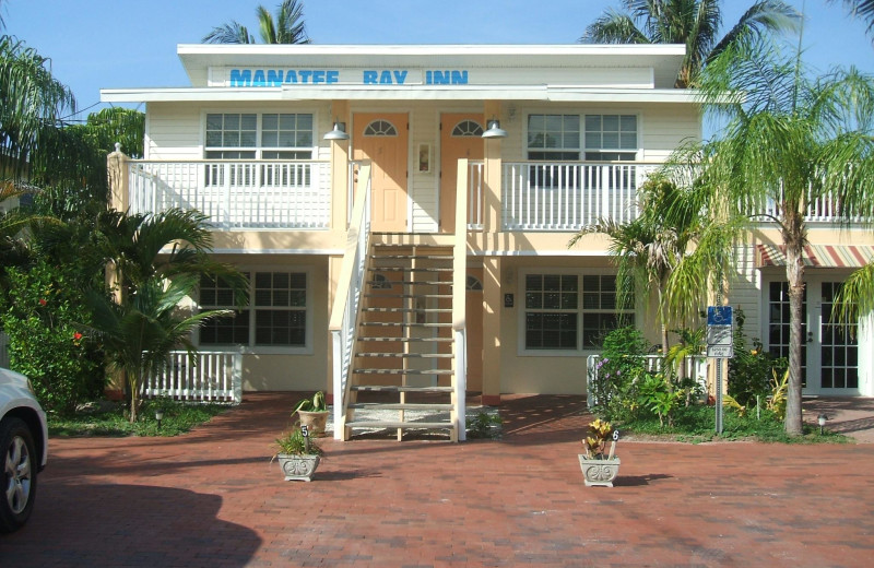 Exterior view of Manatee Bay Inn.