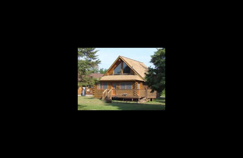 Cabin at Hermans Landing.