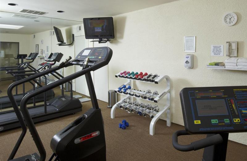 Fitness room at Vista Mirage Resort.