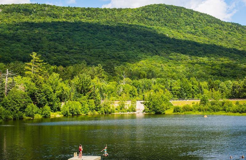 Lake at Black Bear Lodge.