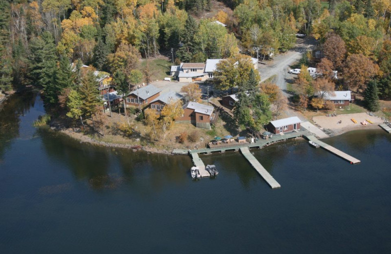 Aerial View of Indianhead Lodge