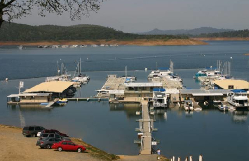Marina at Lake Don Pedro.