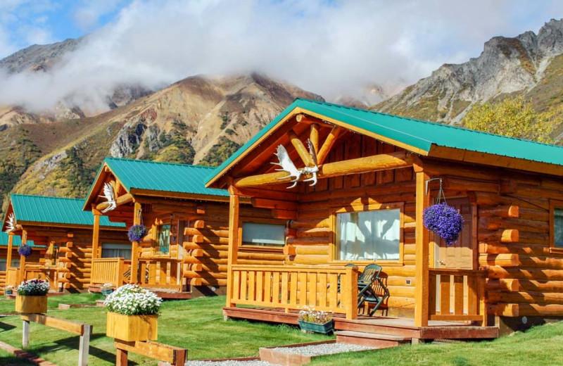 Cabins at Sheep Mountain Lodge.