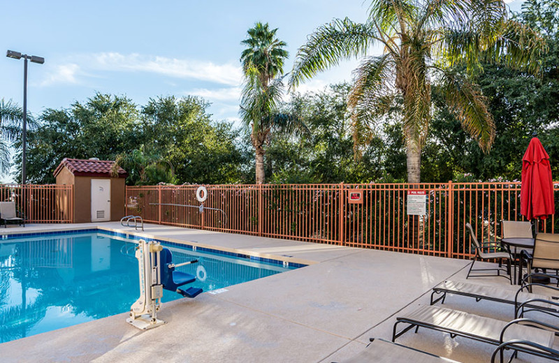 Outdoor pool at Red Roof Inn Phoenix Bell Road.