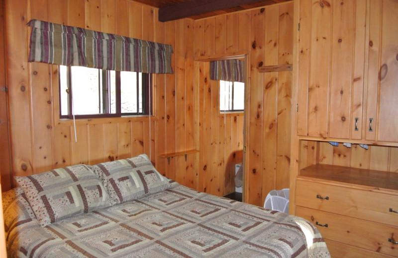 Rental bedroom at Redman Rental Group.
