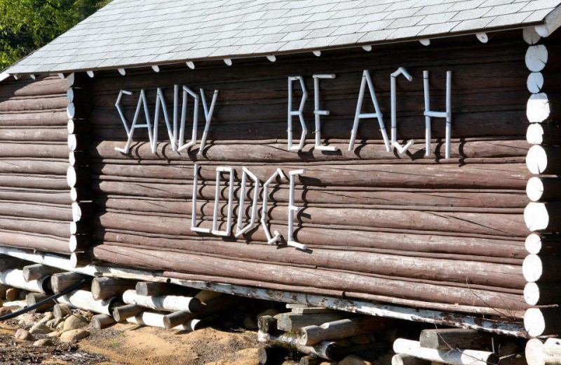 The lodge at Sandy Beach Lodge.