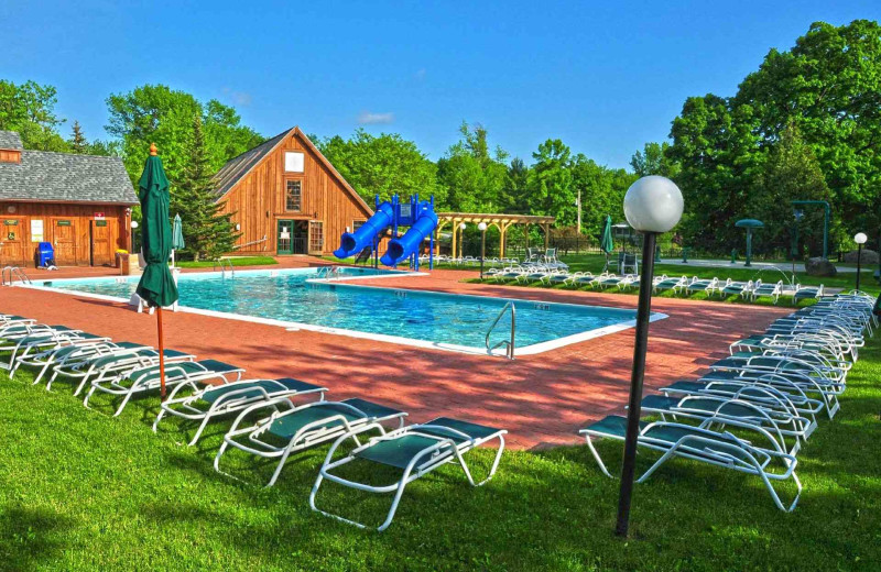 Outdoor pool at Tyler Place Family Resort.