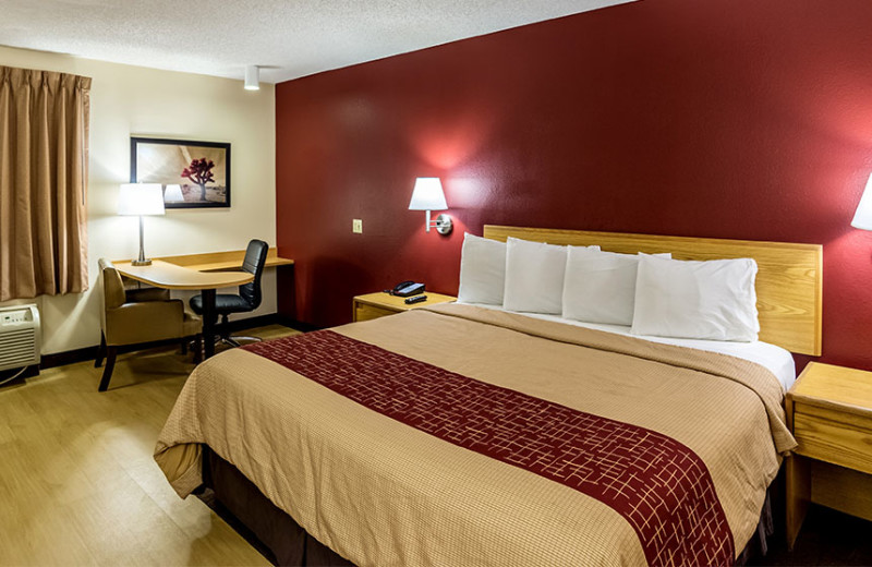 Guest room at Red Roof Inn Phoenix Bell Road.