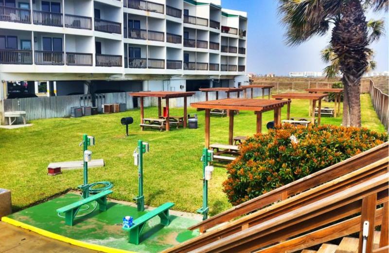 Picnic Area at Port Royal Ocean Resort