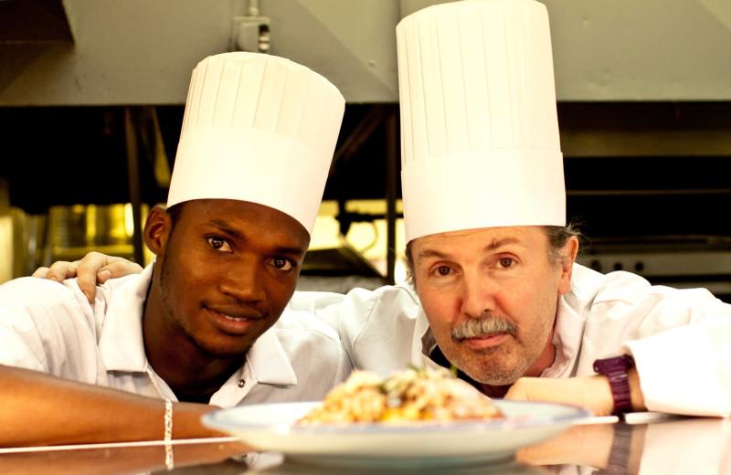 Chefs at Indiana Beach Amusement Resort.