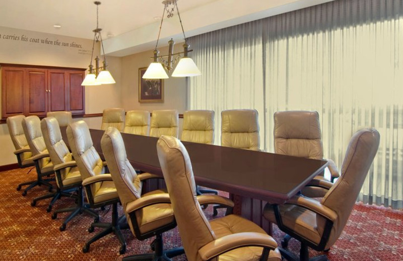 Meeting room at The Best Western Abbey Inn Hotel.