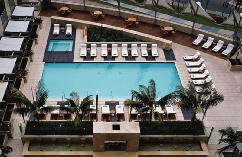 Outdoor pool at Omni San Diego Hotel.