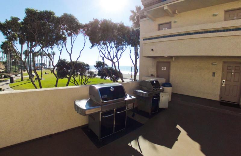 BBQ Area at the Southern California Beach Club