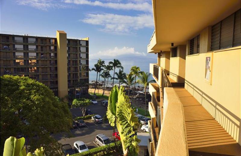 Vacation rental exterior at Maui Vacation Rentals.