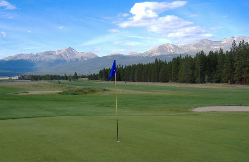 Golf near Black Wolf Lodging.