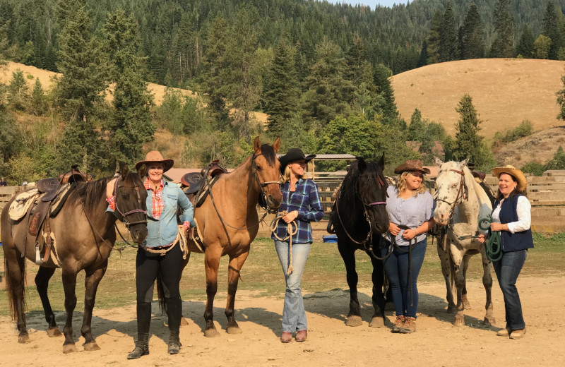 Groups at Red Horse Mountain Ranch.