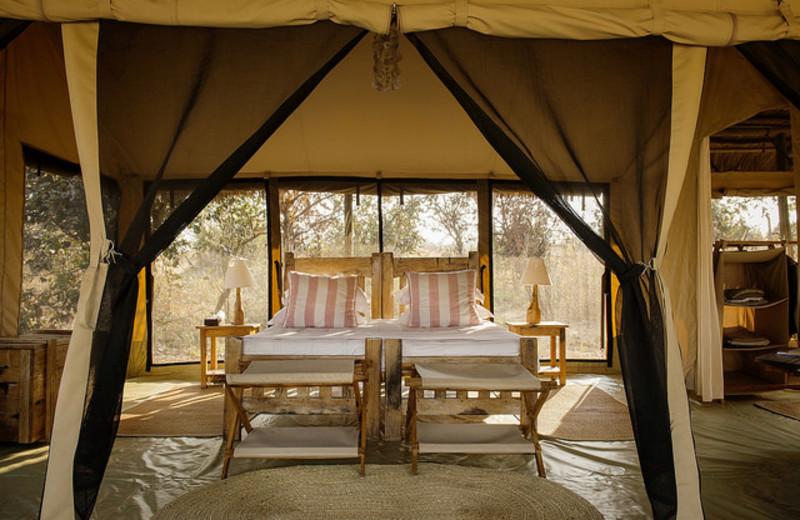 Guest room at Kigelia Lodge.