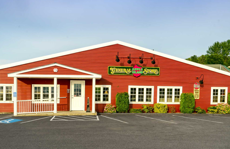 General store at Apple Island Resort.