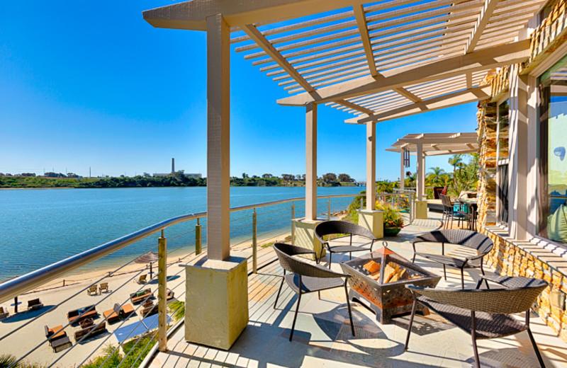 Balcony at Seabreeze Vacation Rentals, LLC.