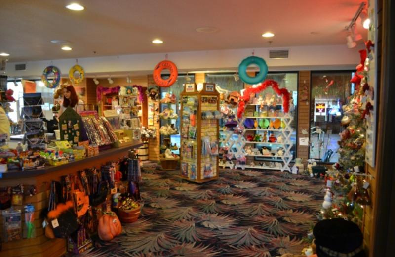 Gift Shop at the Polynesian Waterpark Resort