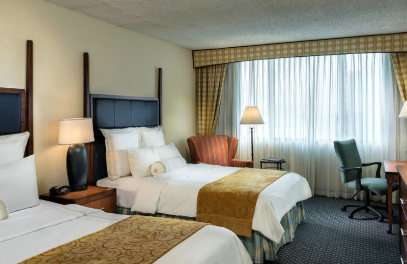 Guest Suite at the Houston Marriott Westchase