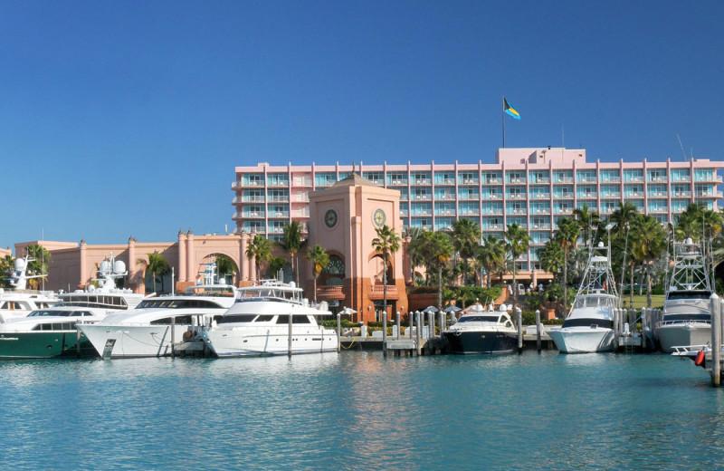 Exterior view of Atlantis, Paradise Island - Coral Towers.