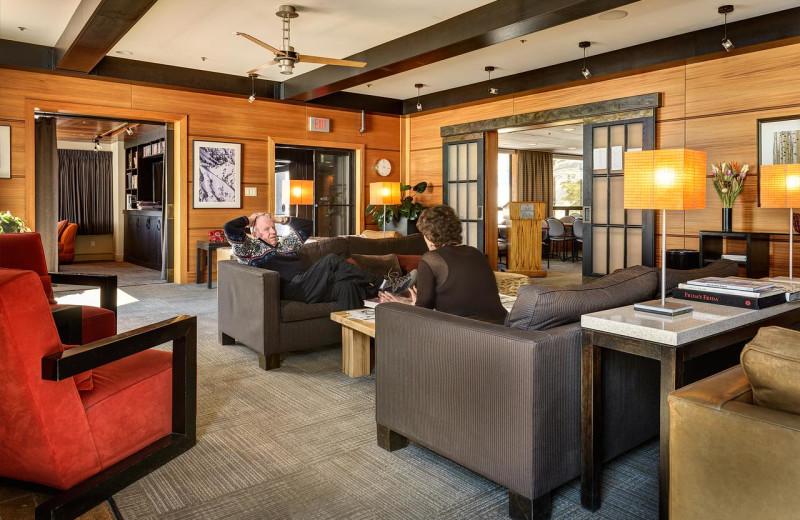 Lobby at Alta Lodge.