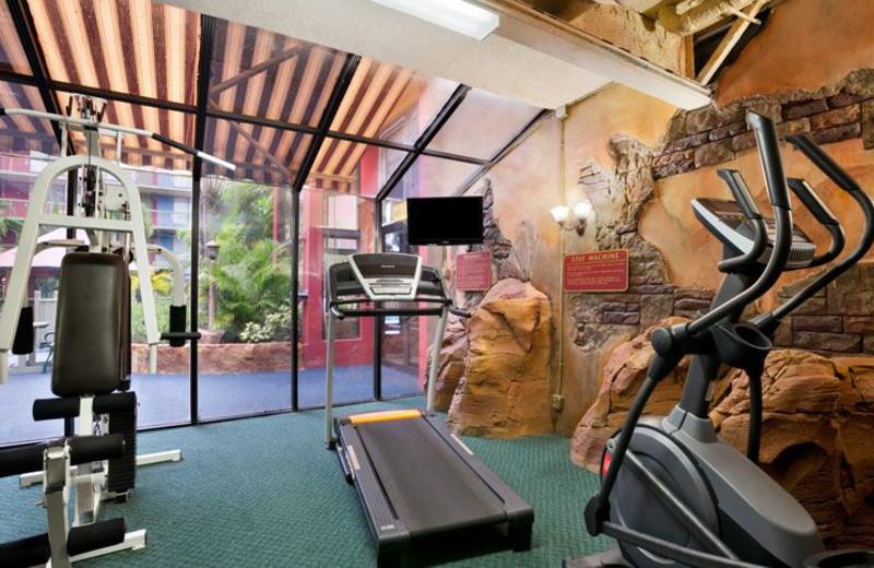 Fitness Center at Ramada Hollywood Downtown