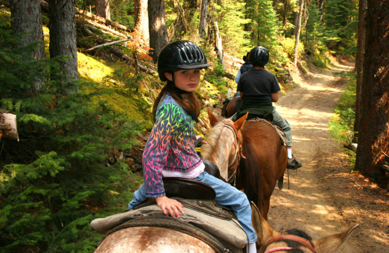 Horseback riding at Valhalla Resort & Vacation.