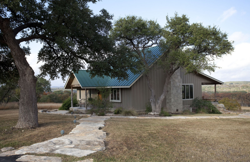 Guest house at Joshua Creek Ranch.