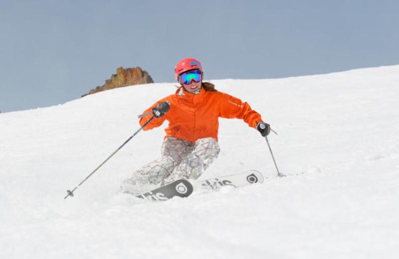Skiing Fun at Sugar Bowl Resort